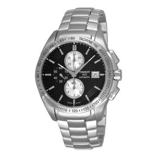 Tissot Mens Veloci T Automatic Black Dial Chronograph Watch