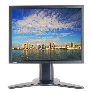20.1 ViewSonic VP201b DVI Rotating LCD Monitor w/USB 2.0
