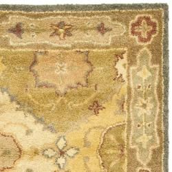Handmade Antiquities Bakhtieri Multi/ Beige Wool Rug (23 x 10