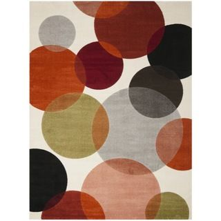 Porcello Bubbles Ivory Rug (53 x 77)