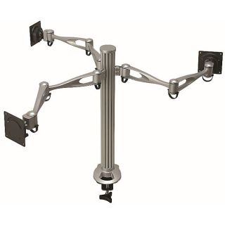 Cotytech DM 31A2 Dual arm 3 monitor Desk Mount