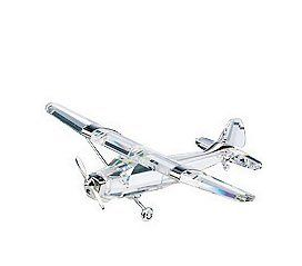 SWAROVSKI CRYSTAL MOMENTS AIRPLANE FIGURINE Home