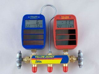 Yellow Jacket 41612 Series 41 Manifold w/ Solar Gauges