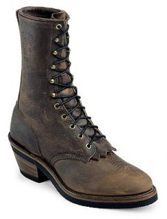 Chippewa Mens 10 Arroyosr Bay Crazy Horse Packer Style 29406 Shoes