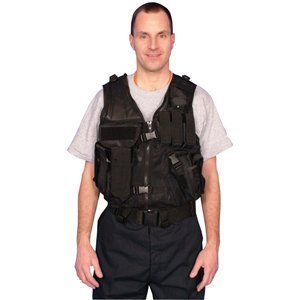 Black Mach 1 Tactical Vest