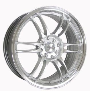 Kyowa Racing Series 228 Hyper Silver   17 x 7 Inch Wheel