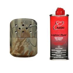 Zippo Camo Hand Warmer With Premium Lighter Fluid