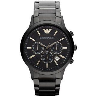 Emporio Armani AR2453 Classic Black Chronograph Mens Watch Watches