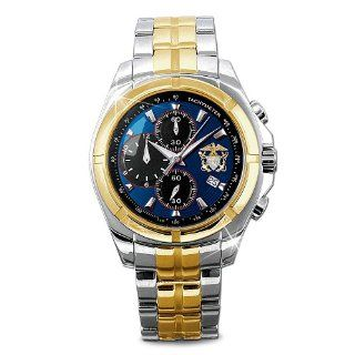 Commemorative U.S. Navy Mens Chronograph Watch Watches