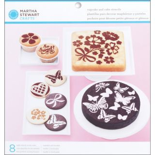 Vintage Girl 8 piece Cake And Cupcake Stencils Today $7.29