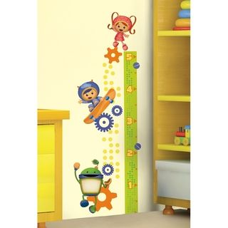 Roommates Team Umizoomi Peel & Stick Growth Chart Wall Decals