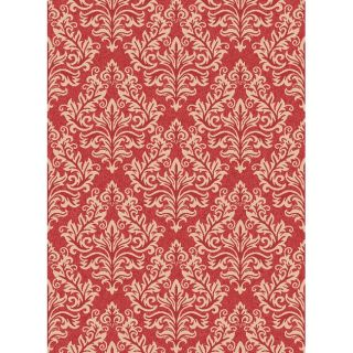 Poolside Red/ Cream Indoor Outdoor Rug (9 x 12)