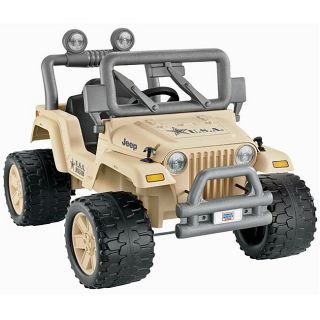 Fisher Price Power Wheels Desert Military Jeep
